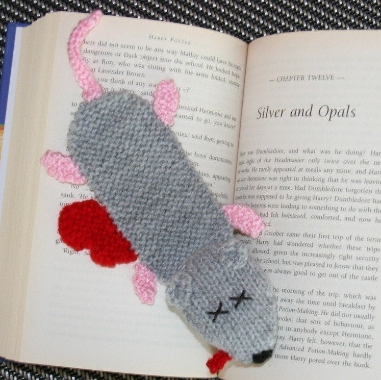 Simple Knitted Bookmark Patterns Free Easy Crochet Bookmark