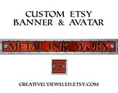 Custom Banner and Avatar for Metal Ink Worx