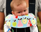YOU Design Reversible Bjorn Style Carrier Soaker Bib - Choose Fabrics