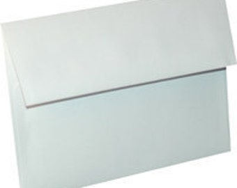 Pack of (25) A-6 White Announcement Envelopes