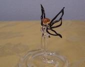 Whimsical Fairy mini  Handblown glass