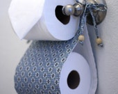 Toilet Paper Holder and Tissue Cover Combo Set