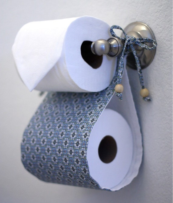 items similar to toilet paper holder and tissue cover combo set on etsy. Black Bedroom Furniture Sets. Home Design Ideas
