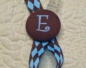 Boutique Custom Monogrammed Pacifer Clip Leash