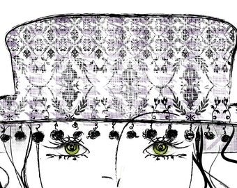 Limited Edition Illustration............Coco Chanel 3a