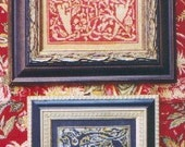 M Designs Alphabet Series Letters M and N Cross Stitch Chart