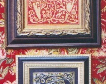 M Designs Alphabet Series Letters M and N Cross Stitch Chart - Instant Downloadable PDF