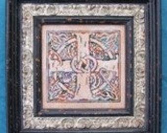 M Designs Celtic Cross Cross Stitch Chart - Instant Downloadable PDF