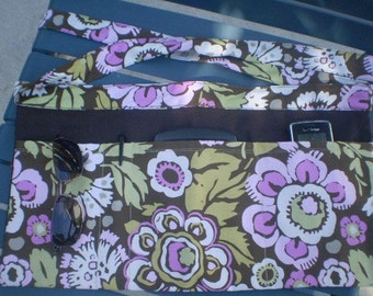 Utility Tool Belt Apron in Amy Butler Fabric to Organize Your Supplies