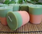 PAPAYA & LIME - Soy Votive Candle 6pk  On Sale