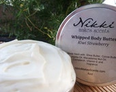 Natural Whipped Body Butter, (Unscented)