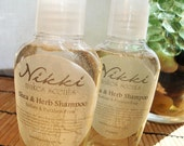 Shea & Herb Shampoo SAMPLE - No Parabens or Sulfates