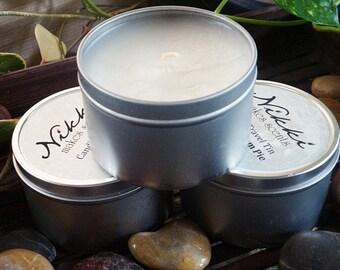 SUMMER SPLASH - Soy Candle Tin, 8oz