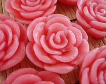 Rose Wax Mini Melts 6pk