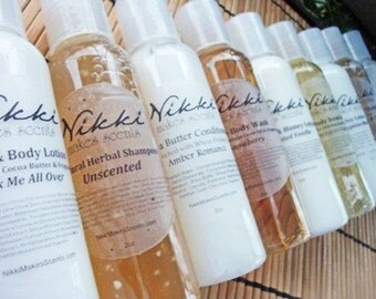 Shea Butter Body Wash Sample - FLORAL  fragrances (A to M)