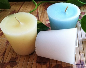 Super-Sized Votive Scent Sample 3pk - ZODIAC inspired scents  (you choose)