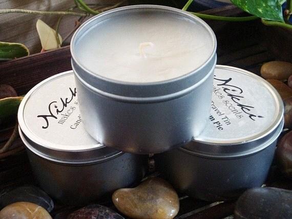 SAND & SEA SPRAY - Soy Candle Tin, 8oz