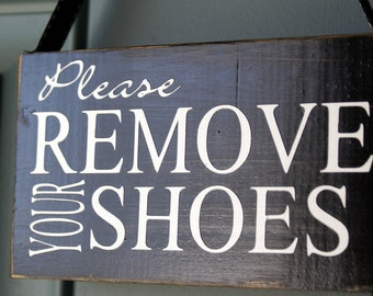 Remove Your Shoes Etsy