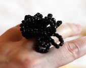 Molecule Ring, Black
