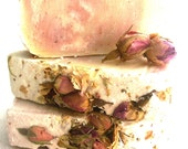 Lavender Rose Soap - Lavender Rose Geranium Soap - SLS free soap - Palm oil free soap - vegan soap