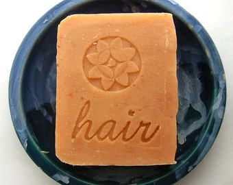Orange Lavender Jojoba Shampoo Bar  - Vegan Shampoo Bar - Shampoo Soap