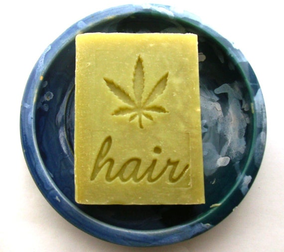 Patchouli Shampoo Bar with Hemp Oil and Raw Organic Cocoa Butter - Vegan Shampoo Bar - Patchouli Soap - Hemp Soap