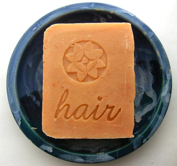 Orange Lavender Jojoba Shampoo Bar  - Vegan Shampoo Bar - Shampoo Soap