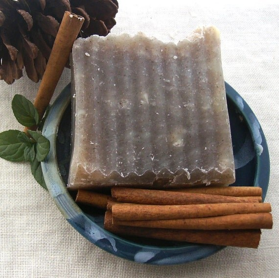 Cinnamon Mint Soap - Cinnamint Soap - Vegan Handmade Soap