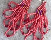 Beaded Earrings- Southwest Valentine