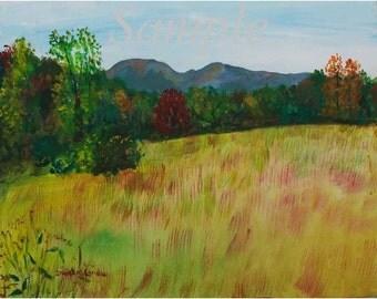 Hogback Mountain in Fall