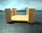 Cherry and Maple Wooden Coaster Holder