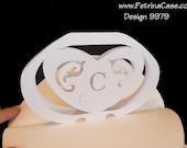 Heart Pop-Up Card 180 degrees Design 9979