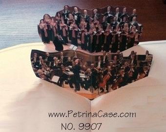 Chorus or Orchestra Pop-Up Card - ITEM 9907