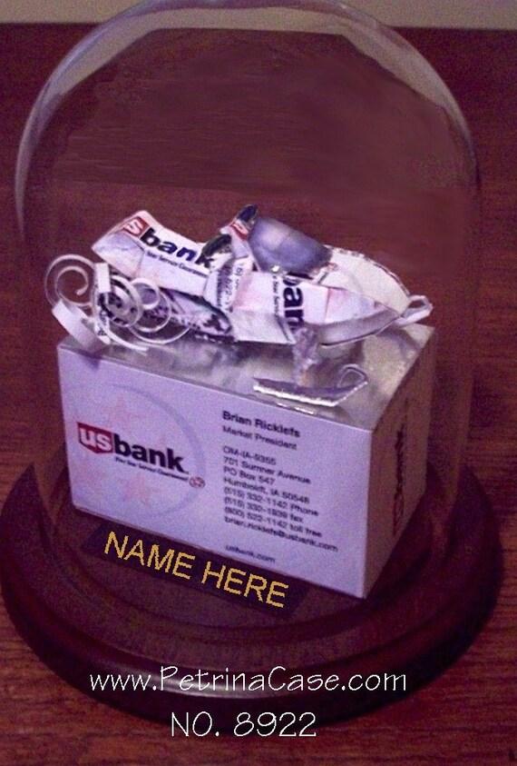 Snowmobile Business Card Sculpture Item 8922