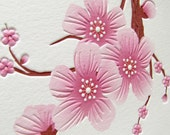 Cherry Blossom Cards - Large Blossom