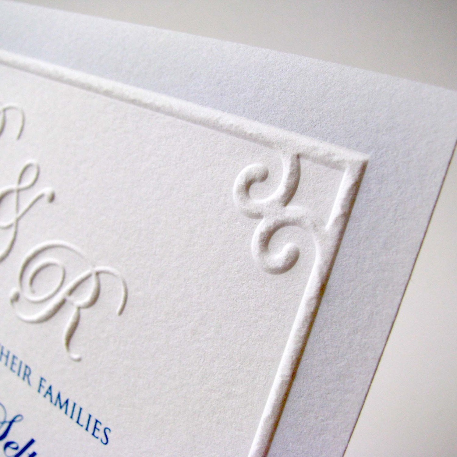items similar to embossed wedding invitations traditional With traditional wedding invitations embossed