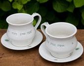 SALE Tea For Two Tea Set by Bunny Safari