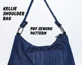 PDF Pattern - KELLIE Shoulder Bag PDF Sewing Pattern