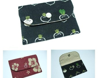 Instant Download PDF Pattern - MAISIE Card Purse / Wallet PDF Sewing Pattern - A4-size Paper Format