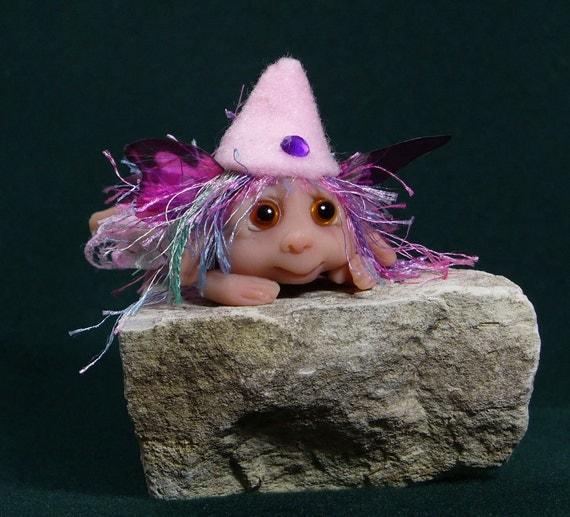 Reserved Listing    Flower Fairy elf gnome troll infant