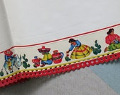 Decorative Shelf Edging Paper with a Mexican Motif by Royledge, 27 feet in length