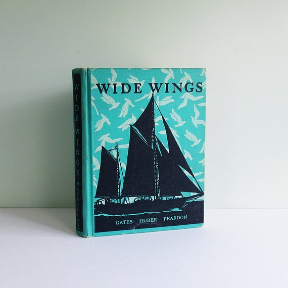 """1939 Children's Third Year Reader Titled """"Wide Wings"""""""