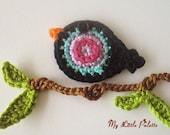 Crochet Bird-12