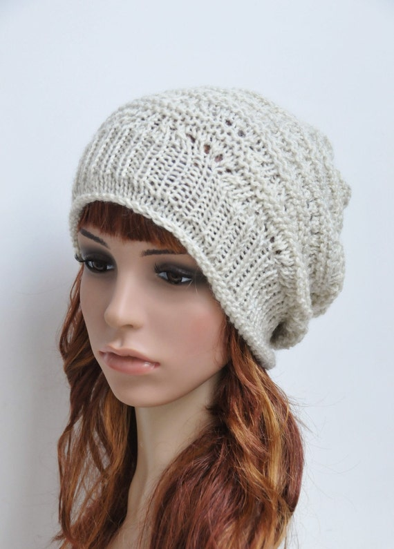 Cozy and Warm - Grey / Ivory Chunky Hat