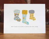 May Your Stocking Always Be Coal Free Cards - Set of 4