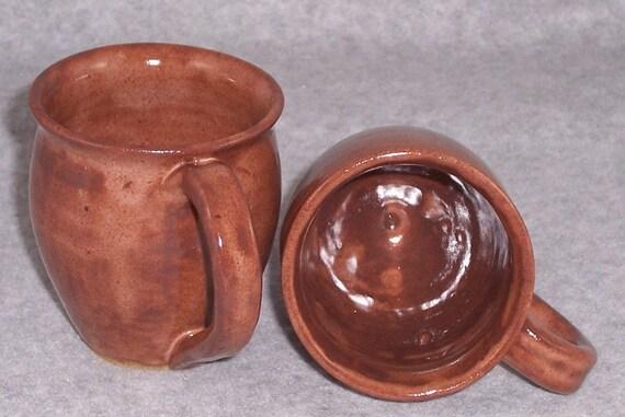 Ceramic Espresso Mug - Plum - Stoneware Coffee Mug - Wheel Thrown Mug - Handmade Mugs - Pottery Coffee Cups