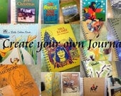 CREATE your OWN - Recycled Handmade Journal