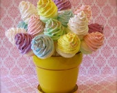 "Fake Cupcake Lollipops ""Sweet and Whimsy Collection"" 10 Mini Assorted Cupcake Lollipops Party Decor/Favor/Gifts 12 Legs Original"