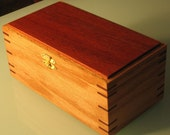 Recipe or Cigar Box - One RESERVED for Lauri \/ One for sale