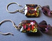 Dynamo- swarovski crystal earrings